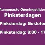 Karwei Boskoop 2e pinksterdag open