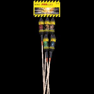 Bright Colour Rockets